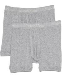 Calvin Klein 2 Pack Boxer Briefs - Lyst