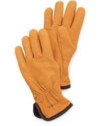 Filson - Lined Goatskin Gloves - Lyst