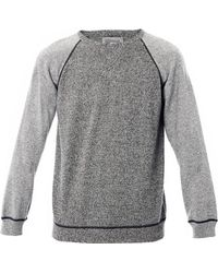 Rake Cashmere Two-Tone Sweater - Lyst