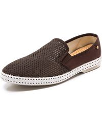 Rivieras Classic 20 Slipon Shoes - Brown