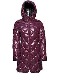 Steve Madden Puffer Coat - Purple