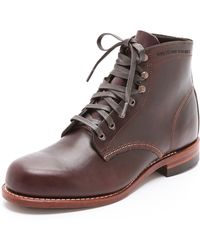 Wolverine 1000 Mile Brown Boots - Lyst