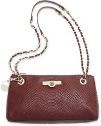 DKNY Python Shoulder Bag - Lyst