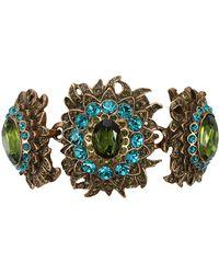 Oscar de la Renta Sunburst Crystal Bracelet multicolor - Lyst