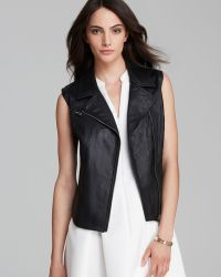 Two By Vince Camuto - Asymmetric Zipper Vest - Lyst