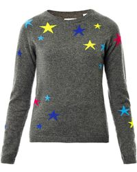 Chinti & Parker Star Intarsia Knit Sweater - Lyst