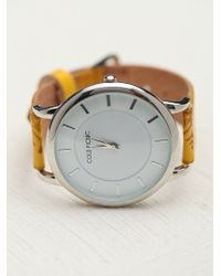 Cold Picnic - Side Stamped Leather Watch - Lyst
