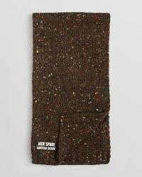Jack Spade Sutton Speckled Scarf - Natural