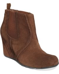 Kenneth Cole Reaction Tell Tales Booties - Brown