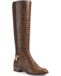 Michael Kors Hamilton Stretch Boots - Lyst