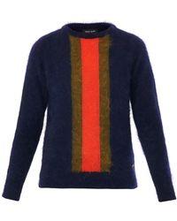 Sophie Hulme - Stripe Angora Sweater - Lyst