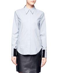 3.1 Phillip Lim Pinstripe Shirt - Lyst