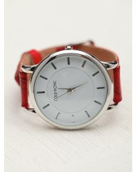 Cold Picnic - Henna Stamped Leather Watch - Lyst