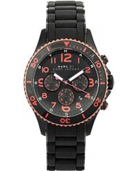 Marc By Marc Jacobs - Chronograph Rubber Watch - Lyst