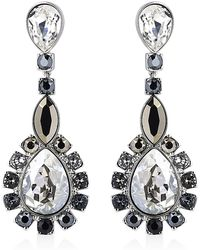 Swarovski - Valeska Drop Earrings - Lyst