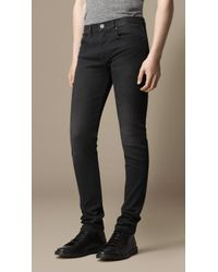 Burberry Shoreditch Selvedge Skinny Fit Jeans - Lyst