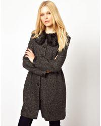Darling Tweed Coat - Lyst