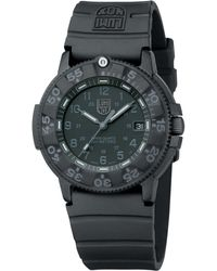 Luminox - A.3001 Men'S Navy Seal Silicone Strap Watch - Lyst