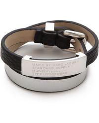 Marc By Marc Jacobs - Standard Supply Double Wrap Bracelet - Lyst