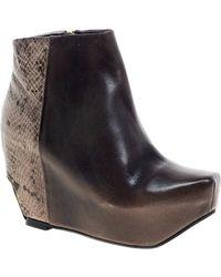 Miista - Marie Wedge Heel Boot - Lyst