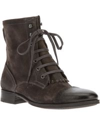 NDC Lace-up Ankle Boot - Lyst