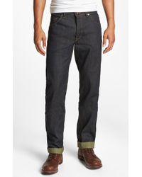 Raleigh Denim Jones Slim Fit Raw Selvedge Jeans - Lyst