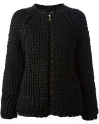 Stine Goya Knitted Callisto Cardigan - Black