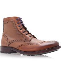 Ted Baker Sealls Brogue Boot - Brown