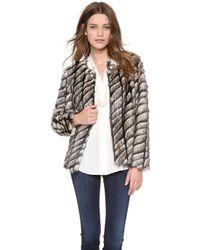 Twelfth Street Cynthia Vincent - Faux Fur Jacket - Lyst