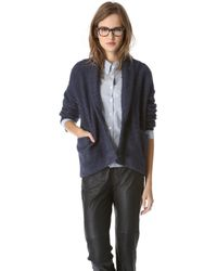 Band of Outsiders - Cash Cable Knit Cardigan - Lyst