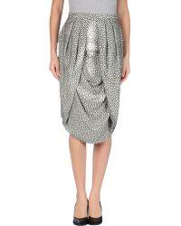 Fendi 3/4 Length Skirt - Lyst