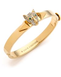 Juicy Couture - Pave Panther Bangle Bracelet - Lyst
