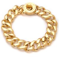 Marc By Marc Jacobs Turnlock Small Katie Bracelet - Oro - Lyst
