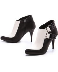 McQ by Alexander McQueen D Ring Booties - Lyst