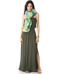 Splendid Strapless Maxi Dress - Lyst