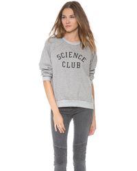 A Fine Line - Science Sweatshirt - Lyst