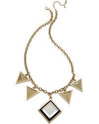 Adia Kibur - Triangle Drop Necklace - Lyst