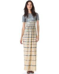 Alice By Temperley Long Ling Dress - Blue