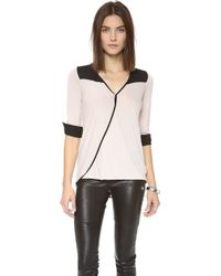 Bella Luxx - Twisted Wrap Top - Lyst