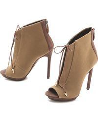 Boutique 9 - Orrino 2 Lace Up Booties - Lyst