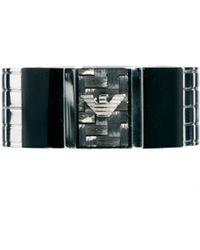 Simon Carter - Emporio Armani Logo Ring - Lyst