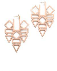 Gemma Redux - Shape Earrings - Lyst