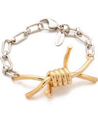 Rodarte - Barbed Wire Bracelet - Lyst