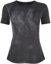 Theyskens' Theory Calli Goddess Print Tshirt - Lyst
