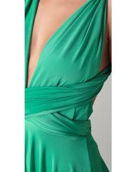 Twobirds   Tea Length Convertible Dress - Dove   Lyst
