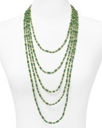 Ralph Lauren Regal Metals Seven Row Necklace - Lyst