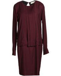 Mauro Grifoni Short Dress - Lyst