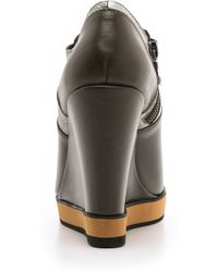 Nanette Lepore - Two Timer Wedge Booties - Lyst