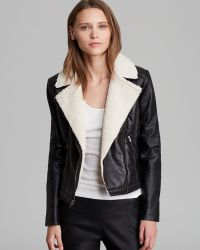 Pjk Patterson J. Kincaid Jacket Jynx Faux Sherpa - Black