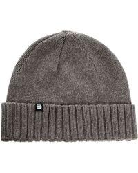 Cheap Monday Demi Beanie Hat - Gray